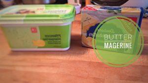 Was ist der Unterschied zwischen Margerine und Butter?