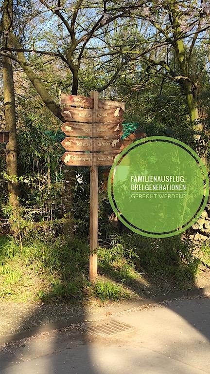 Familienausflug in den Zoo