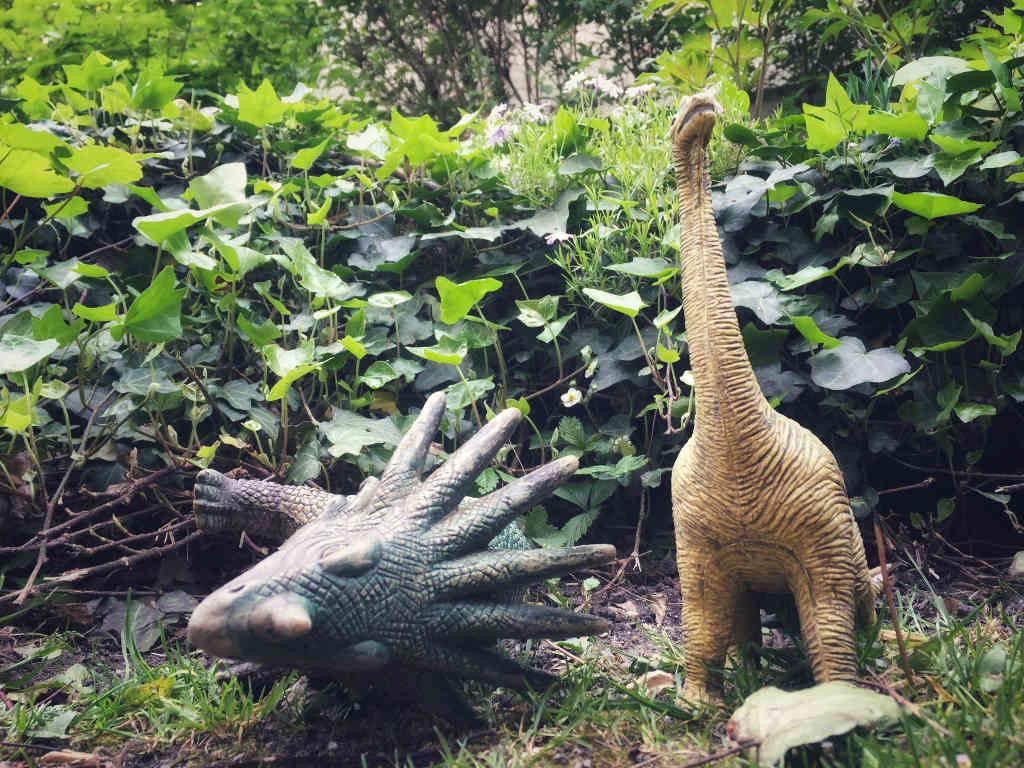 Schlafende Dinosaurier