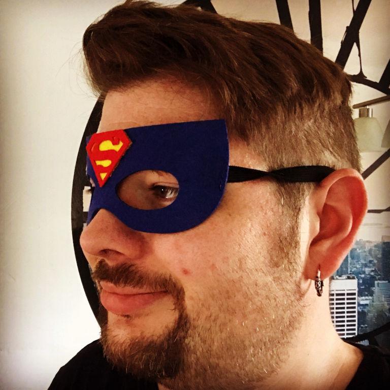 Du bist ein Superheld!